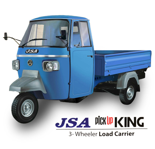 JSA NV Pickup King Three Wheeler Load